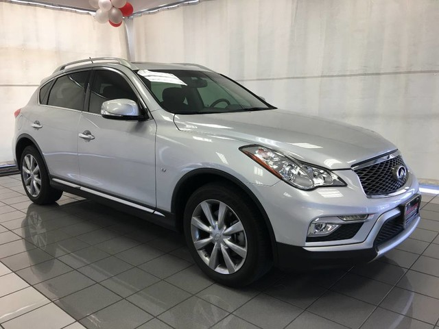 Infiniti Suv 2017 >> Pre Owned 2017 Infiniti Qx50 Rear Wheel Drive Suv